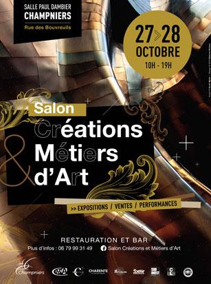 Salon des Créations & Métiers d'Art du 27 au 28 octobre 2018