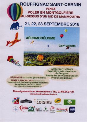 Vol au-dessus d'un nid de Mammouths du 21 au 23 septembre 2018