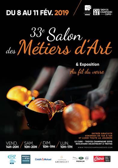 Salon des Métiers d'Art du 08 au 11 février 2019